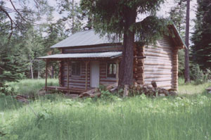 The Remote Blackrock Ridge Cabin Is East Of Town Coeur DAlene And Sits On A Beautiful Secluded Grassy Top Meadow Surrounded By Big Timber At